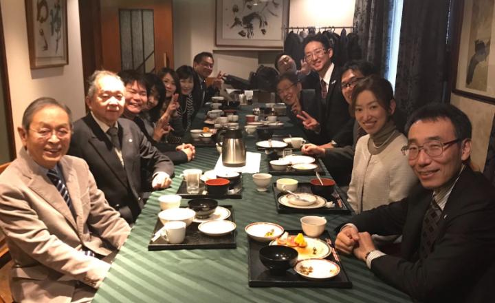 広島市中区倫理法人会の朝食会