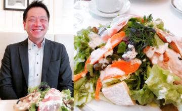 前田と美食家サラダ