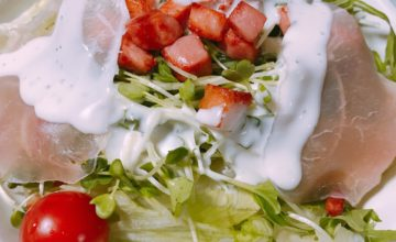 美食家サラダを自作