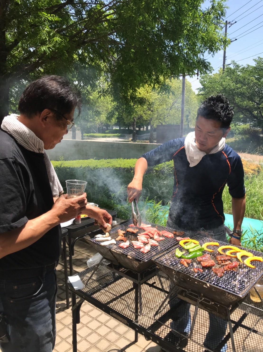 BBQ佐藤さん&楠部さん