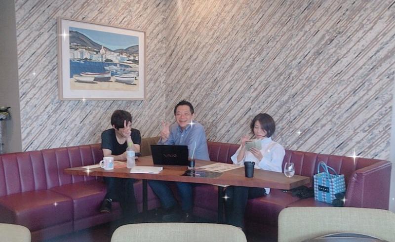 香川県の神戸牛ステーキ店『香音』さんでホームページの打ち合わせ