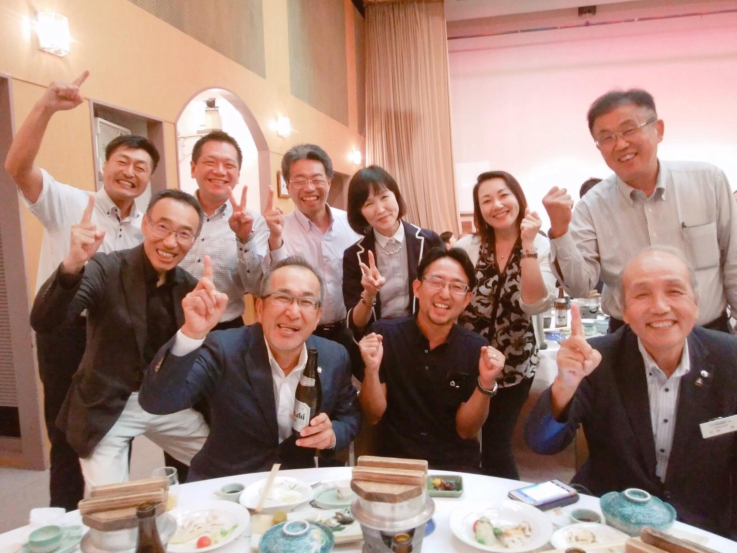 広島市中区倫理法人会の方たち