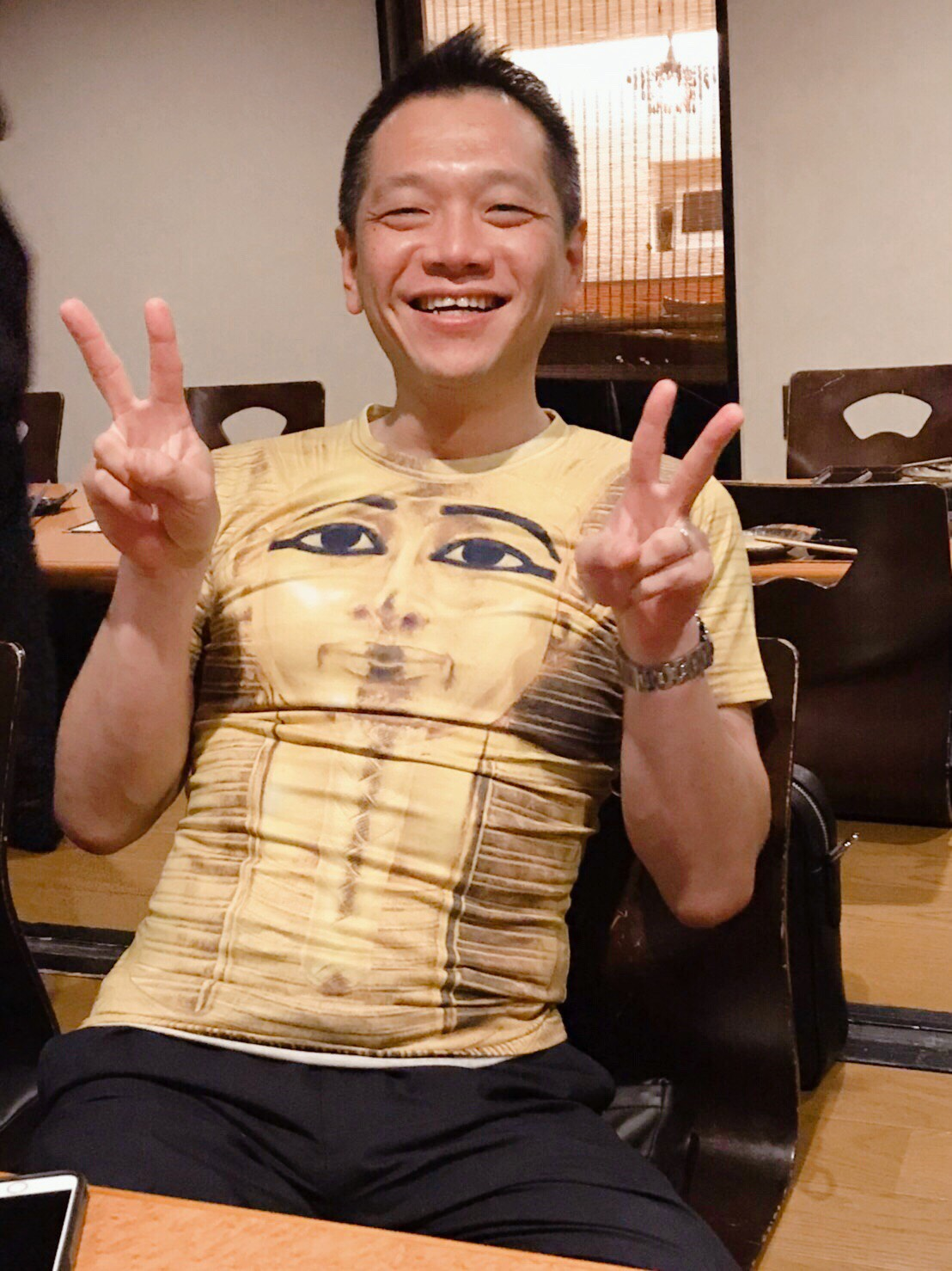 ツタンカーメンTシャツ