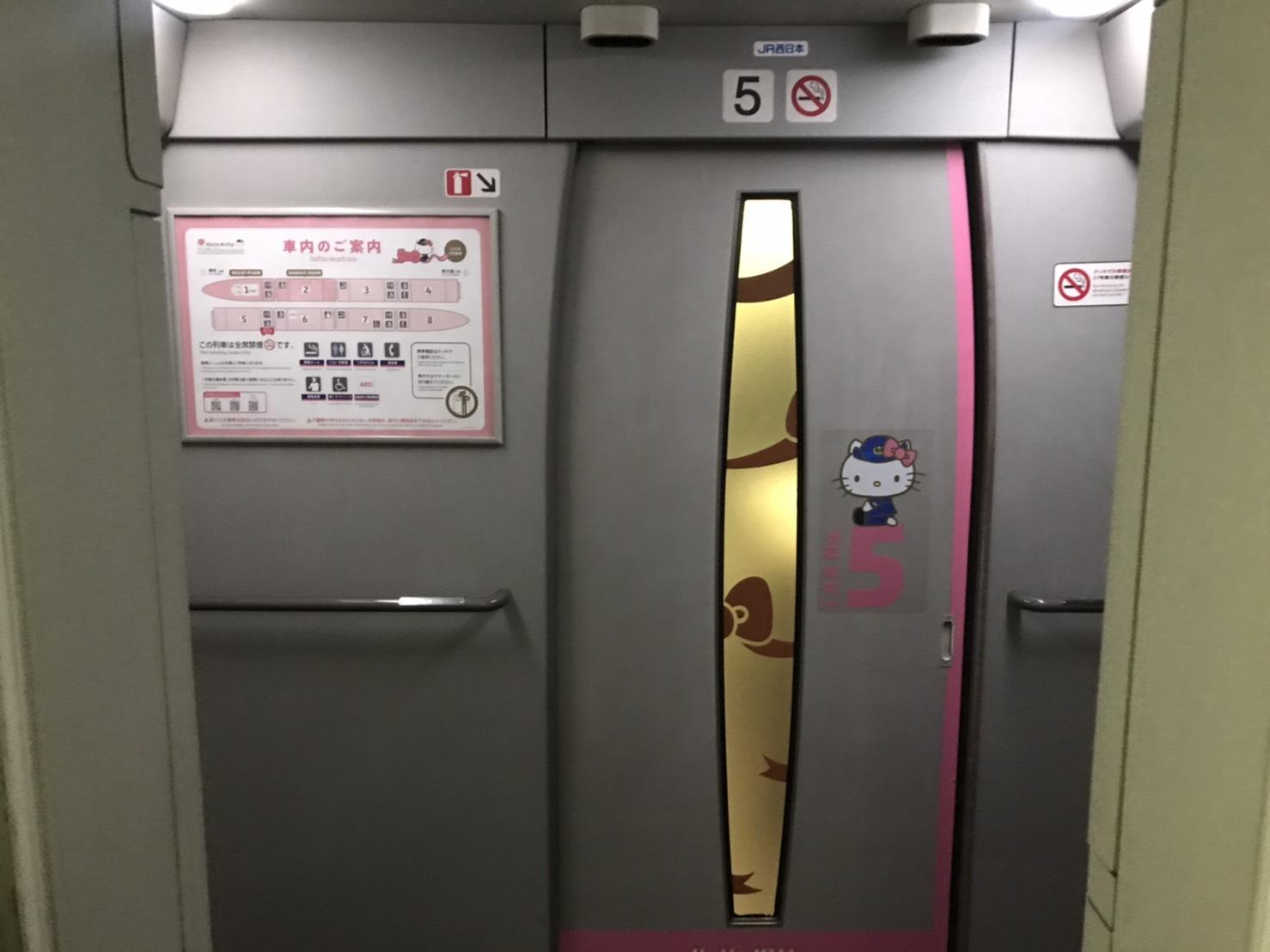 キティちゃん新幹線
