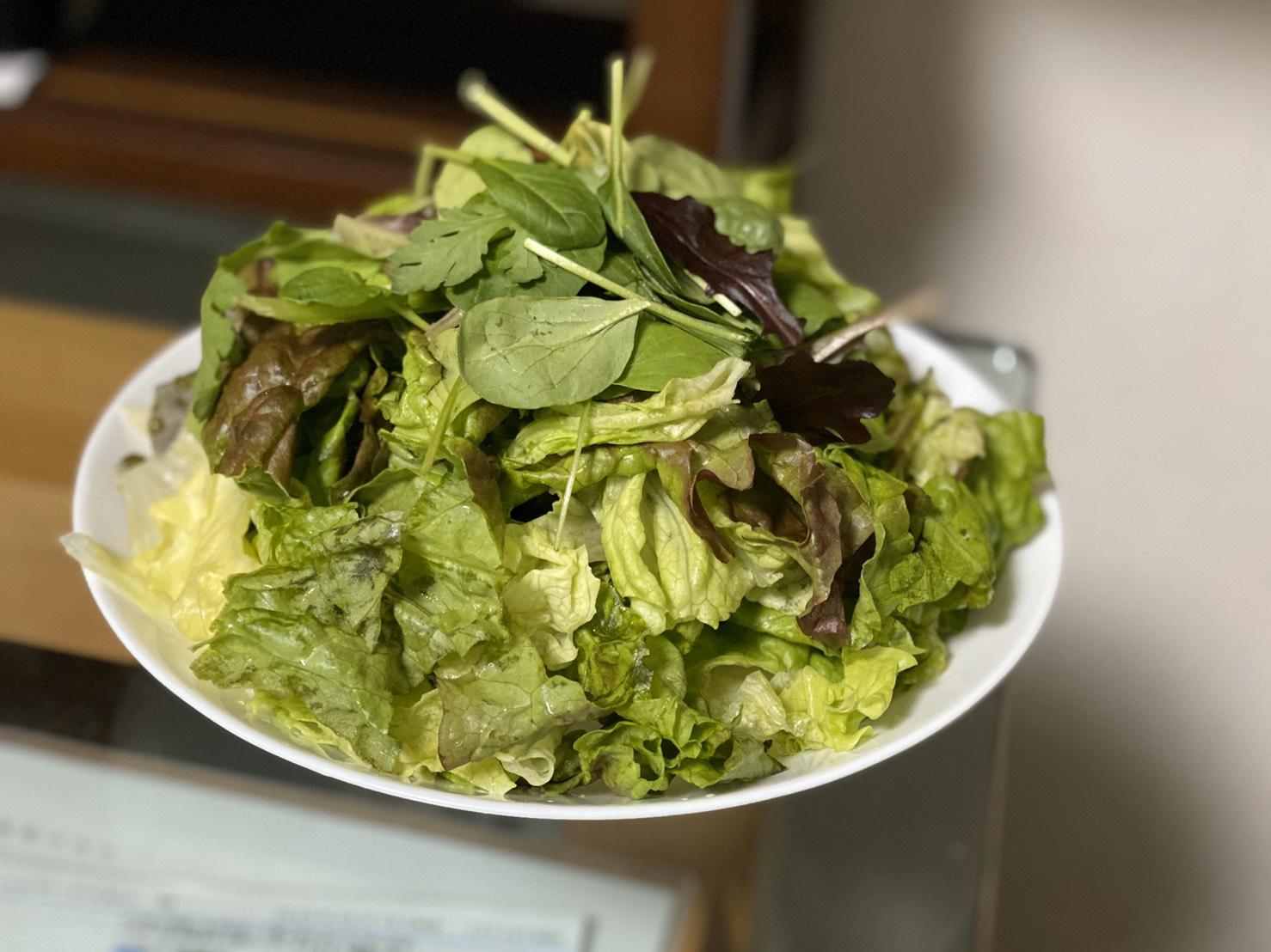 大盛り野菜