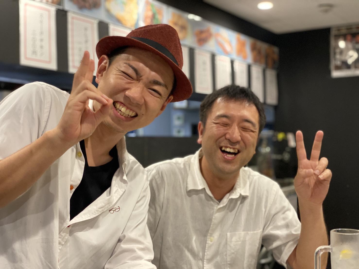中尾さんと古霜さん