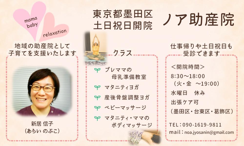東京都墨田区業平 ノア助産院