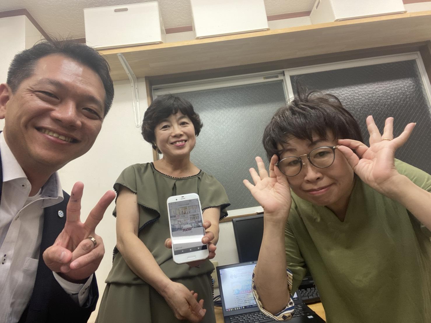 桑本さんと田中さん