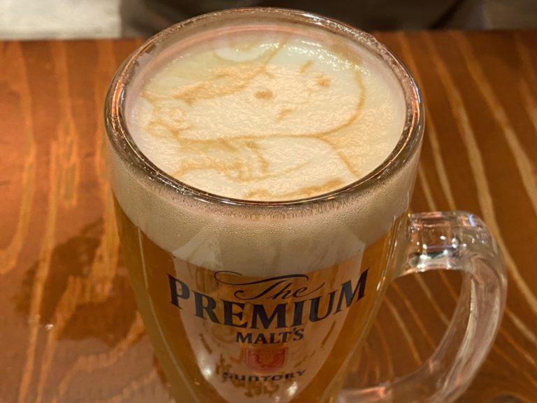 ビールアート