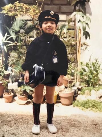 安芸幼稚園 制服は昔と変わらない